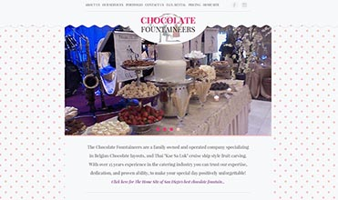 The Chocolate Fountaineers screenshot